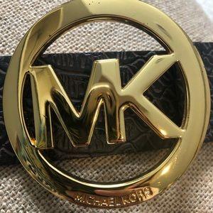 Micheal Kors bronze belt